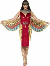 LADIES QUEEN CLEOPATRA EGYPTIAN GODDESS COSTUME EGYPT FANCY DRESS WOMENS OUTFIT