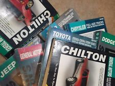 Chilton's Service Manual Buick Pontiac Chevy Jeep Toyota Ford Mercury Volkswagen