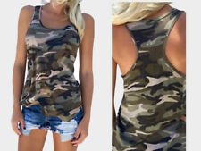Womens Casual Slim Sleeveless Tank Top Cami Vest Blouse Crop Top Fitness Vest