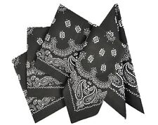 "Play Kreative Cowboy Western Bandana - Pack of 12 - 19"" x 19"" Party Bandanas"