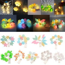 1M Battery Operated 10LED String Fairy Lights Indoor/Outdoor Xmas Festival Lamp