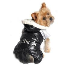 Doggie Design Black and Grey Ruffin It Dog Snow Suit Harness