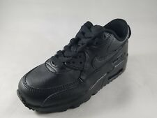 Nike Boy's Air Max 90 Leather (PS) Pre-School Shoe (833414 001 015 100)