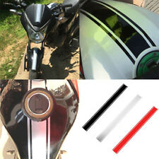 50cm Motorcycle Stickers DIY Tank Cover Reflective Striped Decal For Cafe Racer