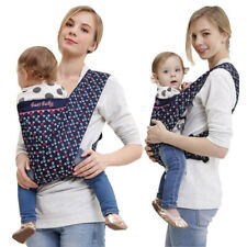 Ergonomic Baby Carrier Infant Toddler Sling Pouch Backpack Front Carry Suspender