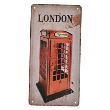Fashion Vintage Wall Hanging Decoration Tinplate Metal Sign Plaque Poster
