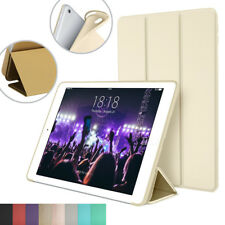 Smart Stand Cover for Apple iPad Air 2 with Flexible Soft Back TPU Case