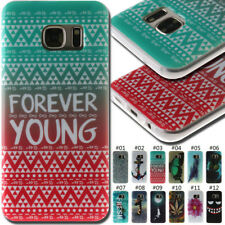 For Samsung Protective Rubber TPU Soft Back Silicone Shockproof Cover Case Skin