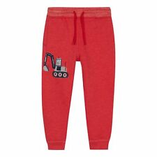 Bluezoo Boys' Red Digger Jogging Bottoms From Debenhams