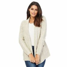 Maine New England Womens Ivory Textured Cardigan From Debenhams