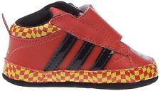 Infants ADIDAS DISNEY CARS 2 CRIB RED Leather Trainers G46479
