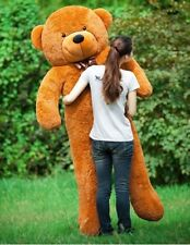 Teddy Bear Giant Stuffed 200CM Huge Animals Plush Life Kids Dolls Gift Toys New