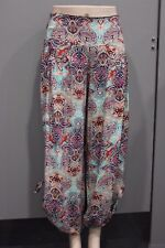 New Quelque by FILO Abstract Print Resort Beach Pants SIZES 8 10 12 14 16 18