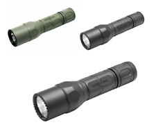 SureFire G2X Pro Dual-Output LED Flashlight with click switch, Forest Green