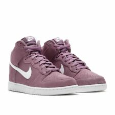Nike Dunk Hi Basketball Shoes Mens Size 12 Violet Dust White 904233 500