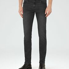 NEW PINTO WASHED DENIM JEANS WASHEDBLACK MENS PINTO WASHED DENIM JEANS WASHED...
