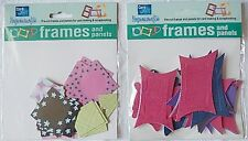 Card Art Papercrafts - Pre-cut frames and panels for card making & scrapbooking