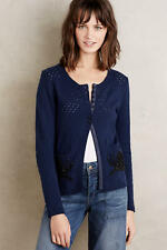 NWT Anthropologie Moth Stitched Snail Cardigan, Size XS-S-M-L, Adorable