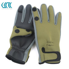 Unifishing 1 Pair Neoprene Fishing Gloves Waterproof Anti-Slip Fishing Gloves
