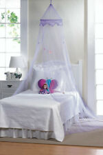 Sweet Dreams Purple / Blue / Pink Princess & Butterfly Bed Canopy Room Decor