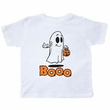 Inktastic Ghost-boo Toddler T-Shirt Halloween Ghost Boo Scary Friendly Trick Or