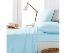 Australian Bedding Collection-1000 TC 100% Egyptian Cotton Light Blue Solid*