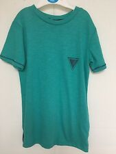 BNWT. River Island Boys. Green/Navy T Shirt Age 3-12 Years