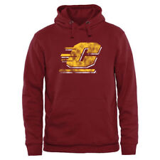 Central Michigan Chippewas Garnet Classic Primary Pullover Hoodie - College