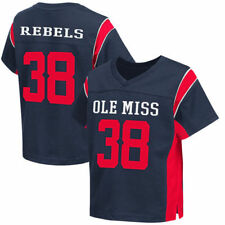 Colosseum #38 Ole Miss Rebels Toddler Navy Football Jersey - College