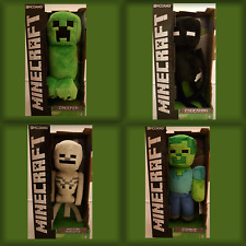 "12"" Minecraft Large Soft Toy Plush Choose from Zombie Skeleton,Enderman,Creeper"