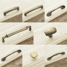 Vintage Metal Embossing Door Knobs Cabinet Drawer Wardrobe Pull Handle Decor