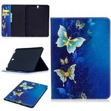 Ultra Pu Leather Stand Flip Case Cover For Apple Samsung Tablets Gold Butterfly
