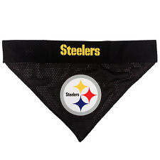 Pittsburgh Steelers NFL Licensed Pets First Dog Pet Reversible Bandana 2 Sizes