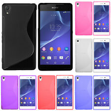 Protection Cover for Sony Xperia T3 D5103 D5102 D5106 TPU Silicone Flip Case