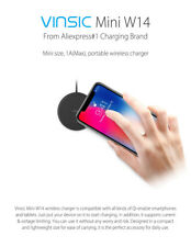 Wireless Charger Power Charging Receiver Charging Pad For iPhone 8 8Plus lot V8M