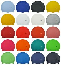 CHEX 100% Silicone Plain Boys Girls 3 - 7 Years Grade A Strong Swimming Hat Cap