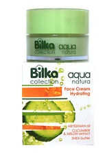BILKA Aqua Natura Hydrating Face Cream 40ml Cucumber & Melon Extract Shea Butter