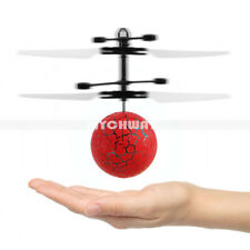 Rc Magic LED Crystal Flying Ball Induction Helicopter Infrared Sensor Toys Newly