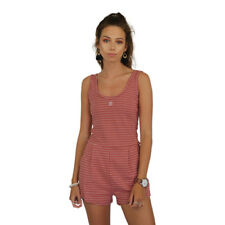 New Women's Stussy Striped Wharfie Playsuit Cors