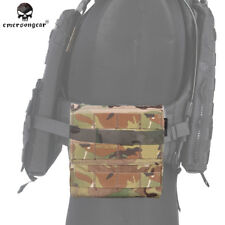 Emerson Tactical AVS Side Amor Carrier Set Molle 6x6 FOR Vest Plate Carrier CP