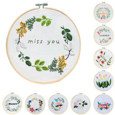 Cross Stitch Kit Embroidery Frame Hoop Wood Template Pattern Hand Tool Craft