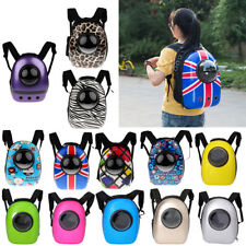 Pet Dog Puppy Cat Backpack Carrier Travel Space Astronaut Capsule Backpack Bag