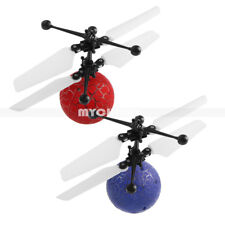 Magic LED Crystal Rc Flying Ball Induction Helicopter Infrared Sensor Toys Boys