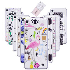 Slim Thin Pattern Soft TPU Silicon Case Cover for Sony Xperia XA1 Ultra