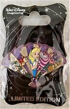 WDI D23 DESTINATION D DISNEY ALICE IN WONDERLAND PRINCESS FAN CHESHIRE CAT PIN