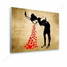 CANVAS (Rolled) Girl Lovesick Banksy Oil Paints Artwork Oil Paintings Prints