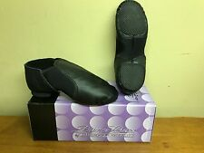 Dance Class Trimfoot Company Jazz Boot Childs tiny Multiple Sizes Black Free S&H