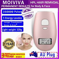 Laser Painless Hair Remover Face Facial Hair Removal Flawless Finishing Touch AU