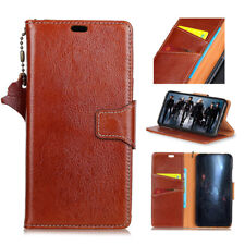 Samsung Galaxy Note 8 Genuine Leather Magnetic Flip Card Wallet Stand Cover Case