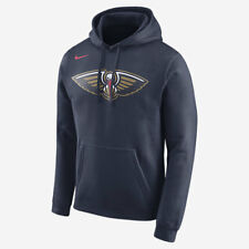 Nike NEW ORLEANS PELICANS MEN'S FLEECE NBA HOODIE College Navy- Size S,M,L Or XL